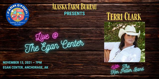 Terri Clark to come to Alaska Nov 13 ,2 2021 for a fundraiser supporting the Alaska Farm Bureau